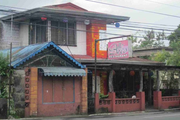 Calle Arco Restaurant in Pagsanjan Laguna
