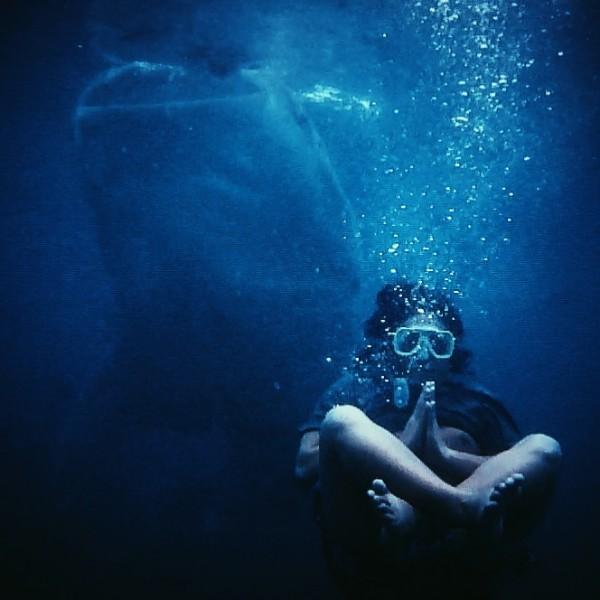 Underwater meditation