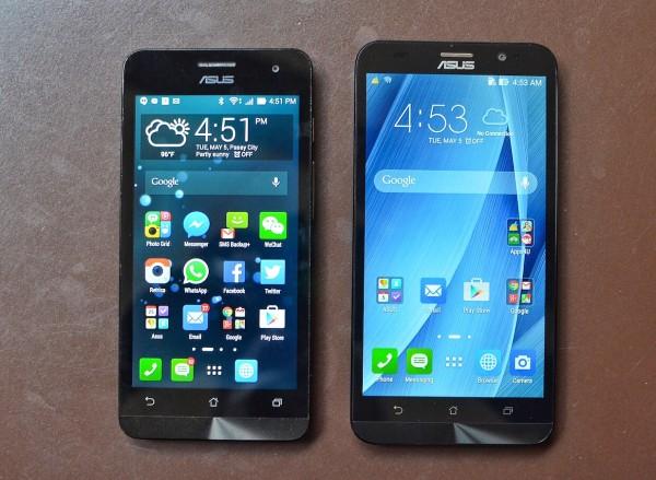 Asus Zenfone 5 and Asus Zenfone 2