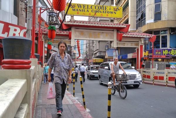 Chinatown in Manila