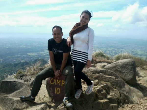 Dream come true! My first time at Mt. Batulao Summit!