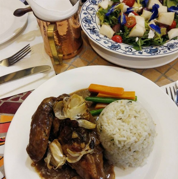 Gourmet Chicken Adobo photo by When Uan Met Sally FB