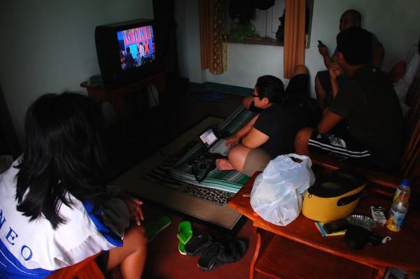 Inside Novita House in Batanes
