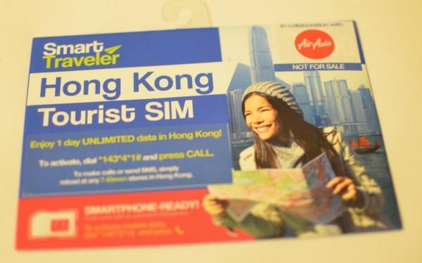 Smart Traveler Hong Kong Tourist SIM Card