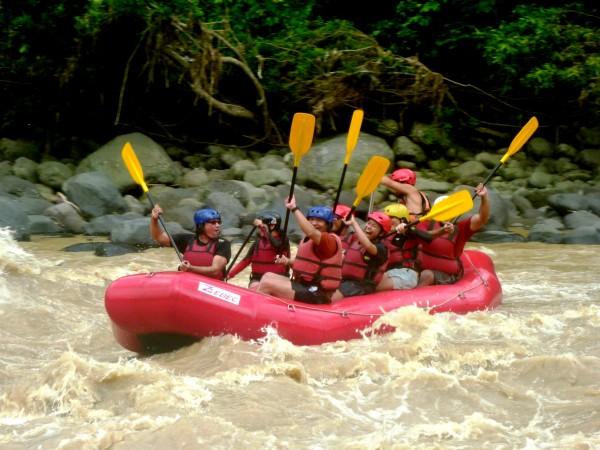 White Water Rafting in Cagayan de Oro