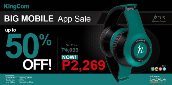 ZEUS Bluetooth Headset Lazada Sale
