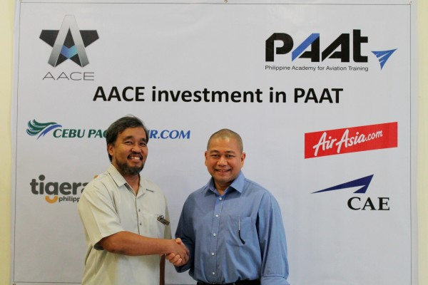AirAsia in PhilippineAcademy for Aviation Training