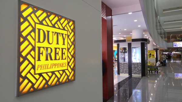 Duty Free Shop in NAIA T3