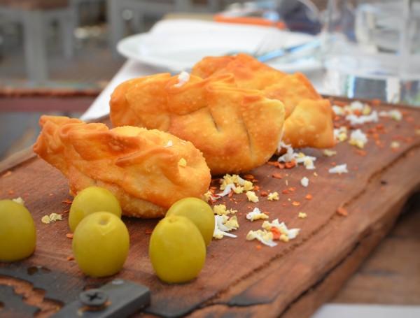 Empanaditas from La Bruja Restaurante
