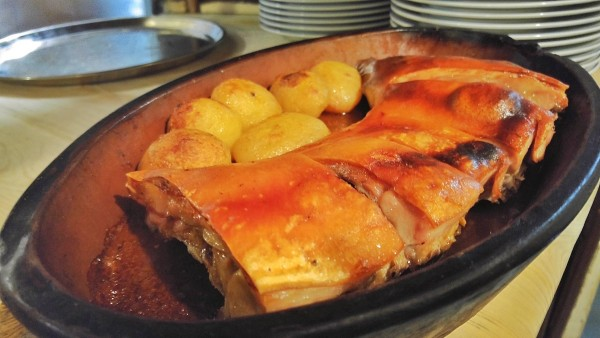 Famous Roasted Suckling Pig of Casa Botin
