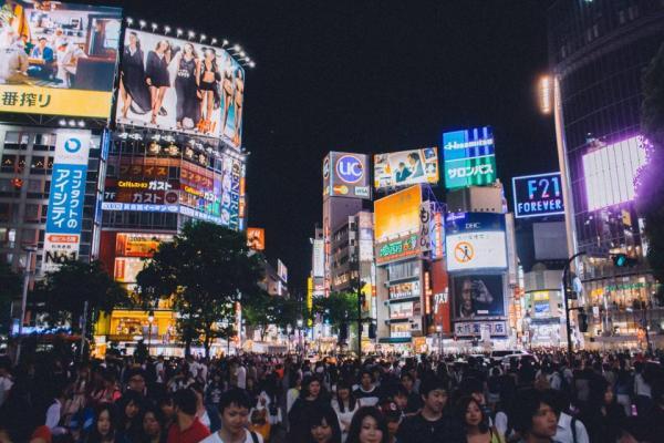 Shibuya Crossing by Luis Llerena