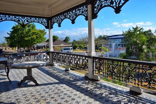 The Balcony of Sinners at Aguinaldo Shrine