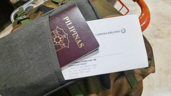 Old Philippine Passport