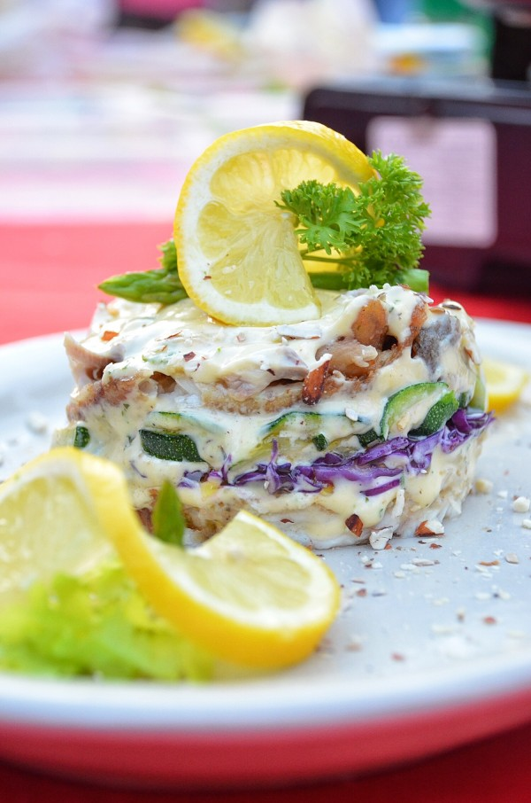 Tilapia ala King with Roasted Talisay Nuts by Chef Peter Lamano