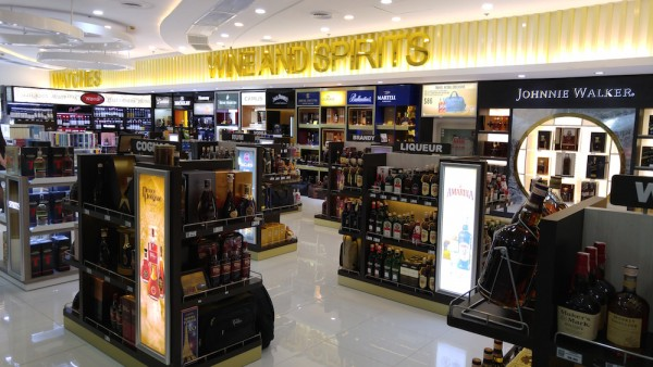 Wines and Spirits Shop in T3