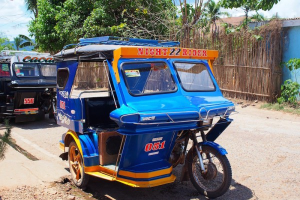 tricycle - Visit Coron