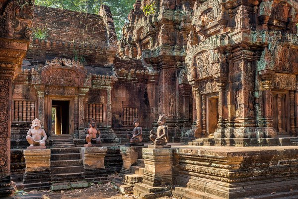 Bantay Srei Temple in Siem Reap