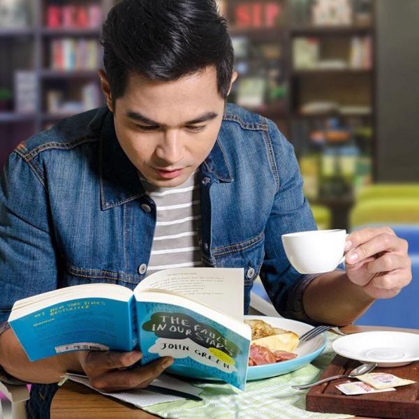Ben Alves for Book and Borders Cafe photo from their FB