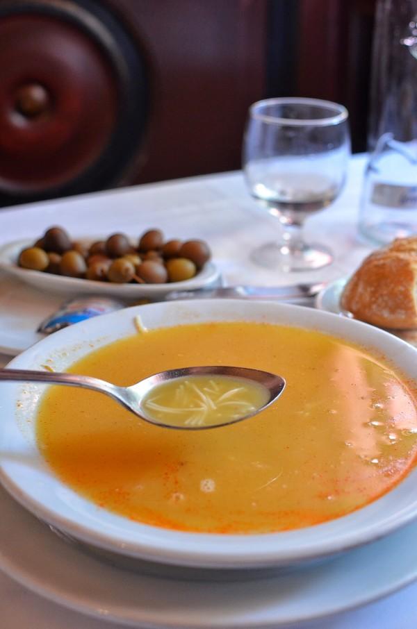 Cocido Soup