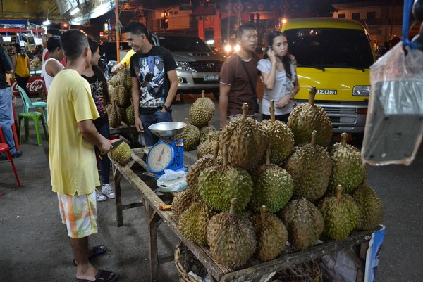 Durian in Davao