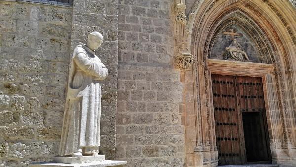 Entrance of of Cartuja de Miraflores Chapel
