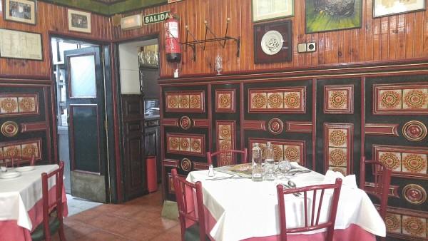 Inside La Bola Restaurante
