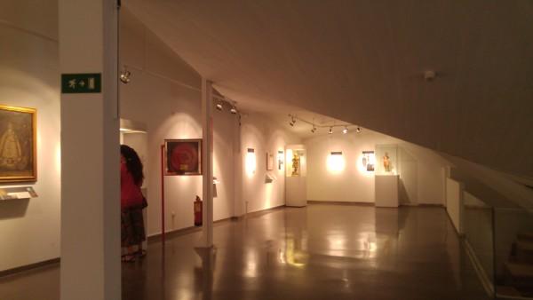 Inside Museo de San Isidro