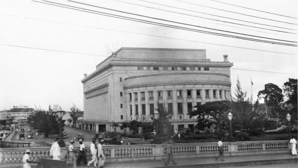 Manila Post Office Pre-war photo