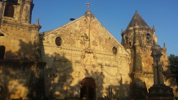 Miagao church's facade