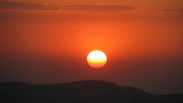 Sunset in Semien National Park - Ethiopia