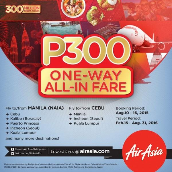 AirAsia 300 Guest in Jakarta