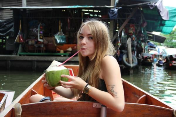 Sarah in Bangkok