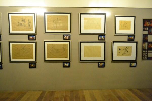 exhibit sketches