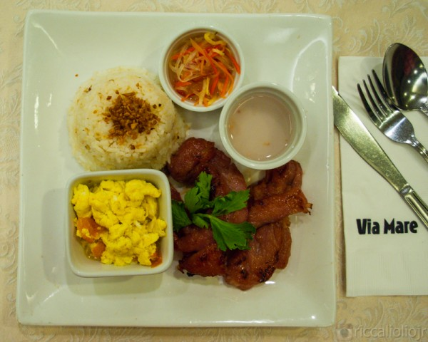tocino meal