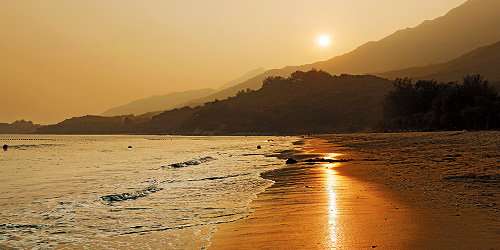 Cheung Sha Beach Sunset