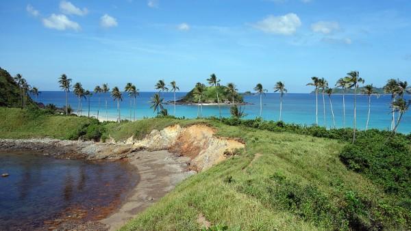 Nacpan Calitang Beach in El Nido