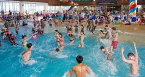 Wave Pool at Onemount Waterpark