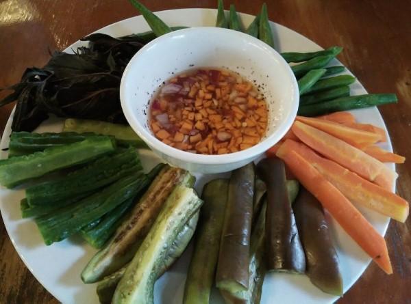 A delicious Filipino veggie meal