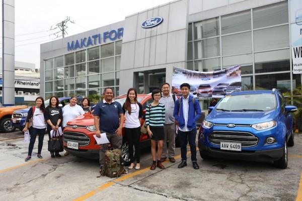 Group Photo at Makati Ford