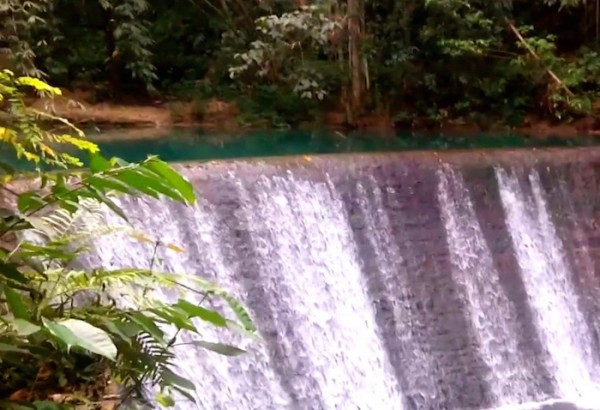 Kawasan Dam for electricity supply in CEBECO
