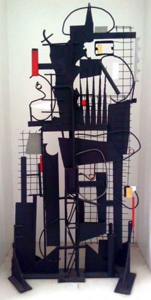 Modern Art Installation