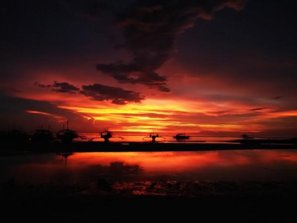 Sunset in Malapascua