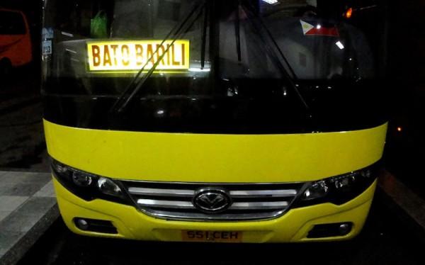 Bato via Barili Bus