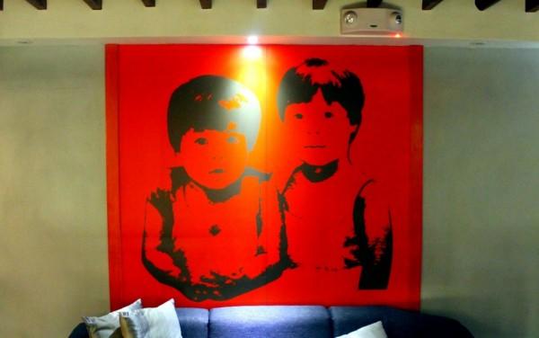 Childhood portrait of Iñaki and Pepin