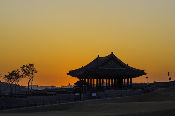 East Pole of Hwaseong Fortress