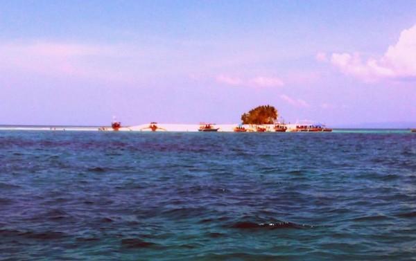 Hagonoy Island from afar