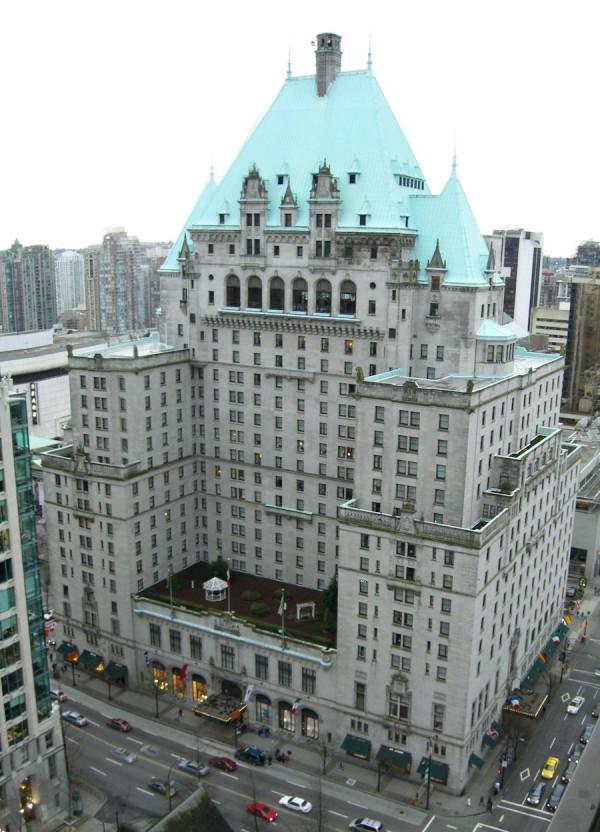 Hotel Vancouver Oldest Hotels