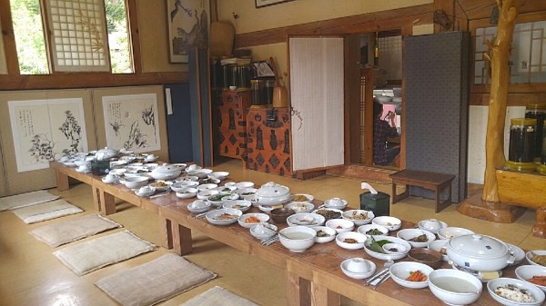 Our Private room inside Seojichogaddeul Restaurant