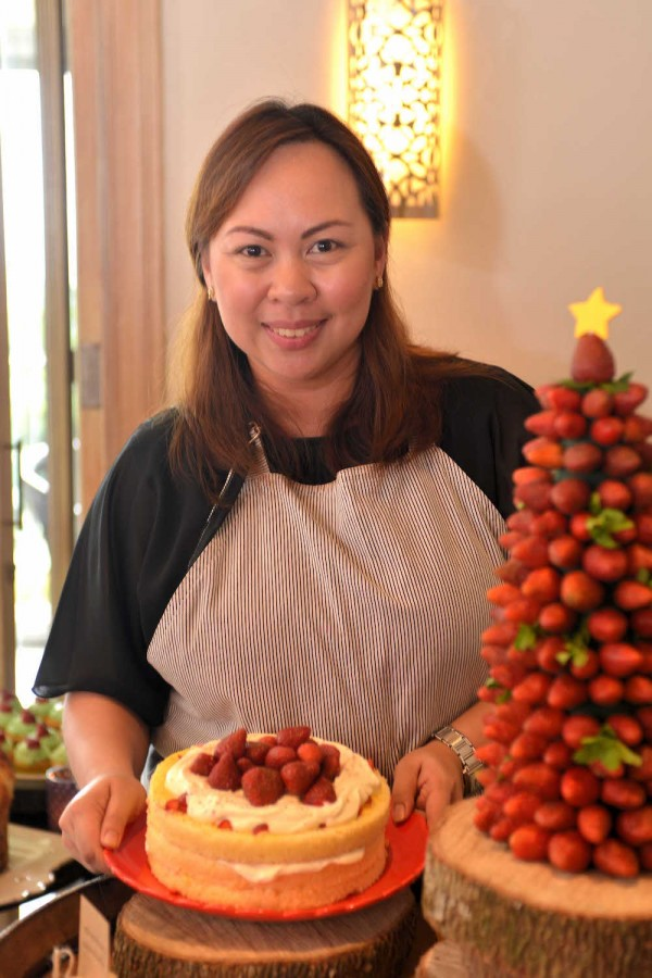 Resident Manager and Pastry Chef Rhea Sycip
