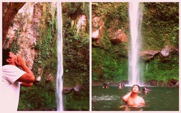 The magnificent Katibawasan Falls